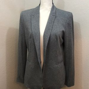 Zara basic blazer grey - large